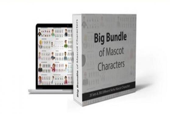 Big Bundle Mascot Creator